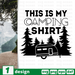 This is my camping shirt  SVG vector bundle - Svg Ocean
