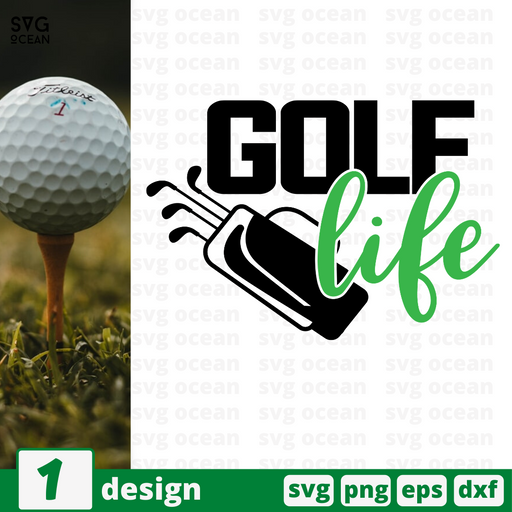 Golf life SVG vector bundle - Svg Ocean