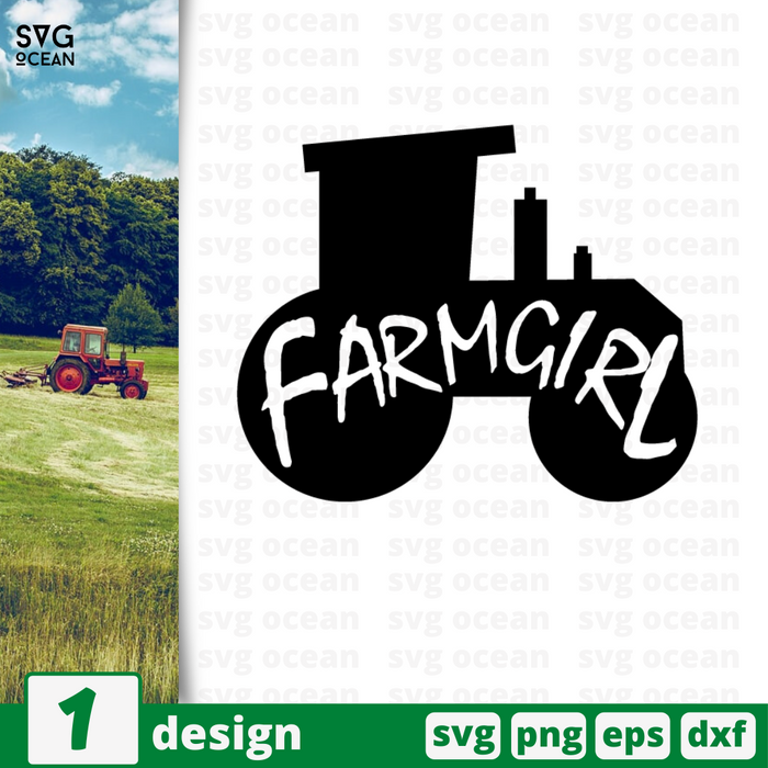 Farmgirl SVG vector bundle - Svg Ocean