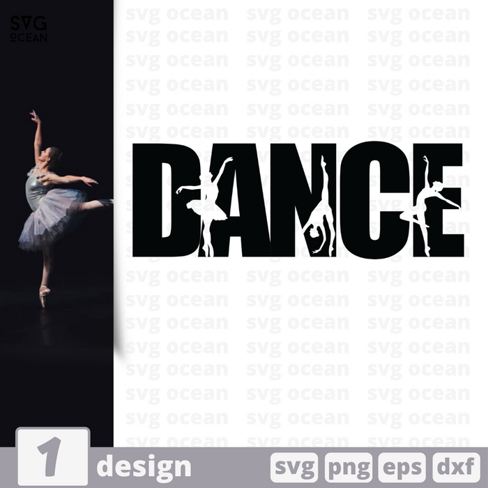 Free Dance quote SVG printable cut file Dance - Svg Ocean