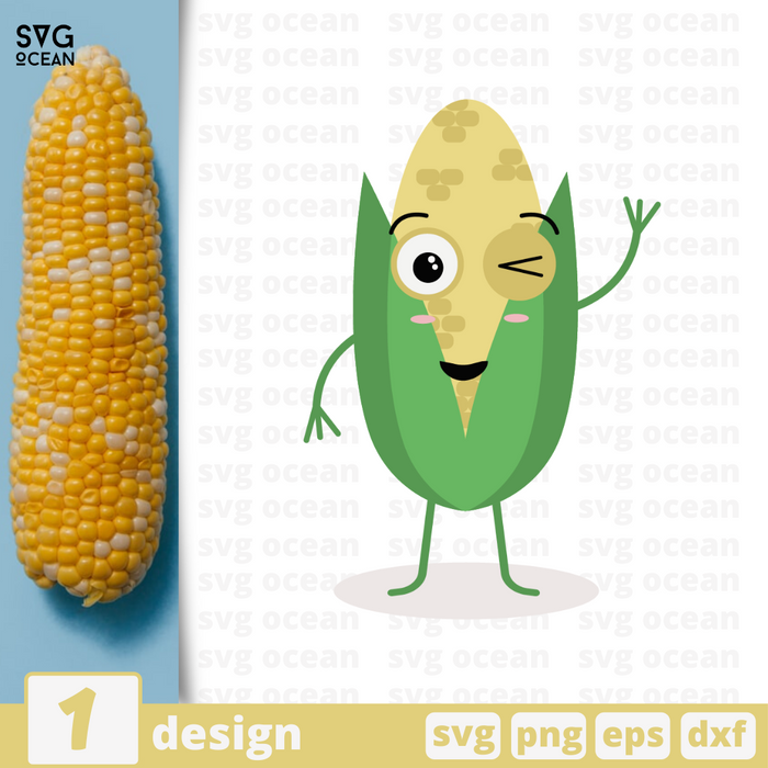 Corn SVG vector bundle - Svg Ocean
