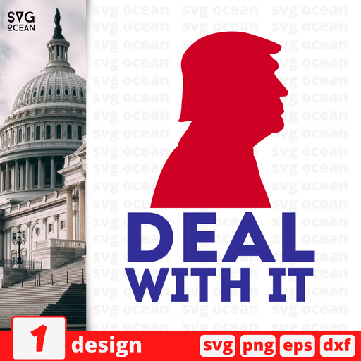 Deal with it SVG vector bundle - Svg Ocean