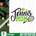 Tennis mom SVG vector bundle - Svg Ocean