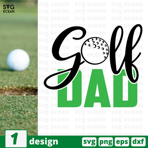 Golf dad SVG vector bundle - Svg Ocean