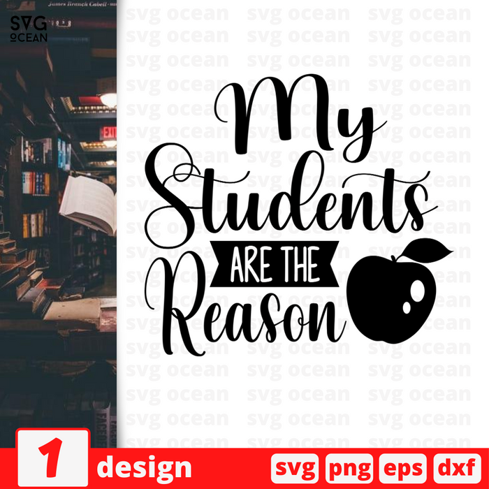 My students are the reasons SVG vector bundle - Svg Ocean