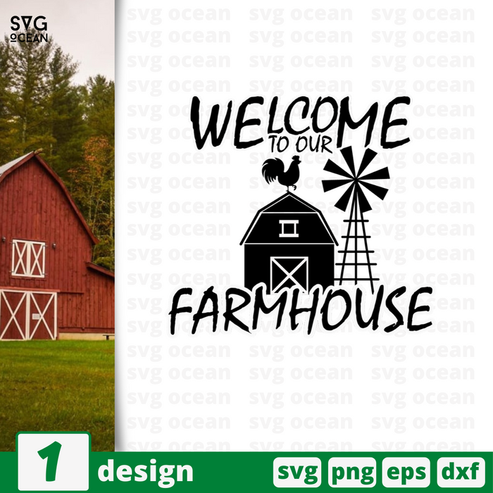 Welcome to our farmhouse SVG vector bundle - Svg Ocean