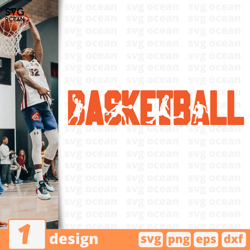 Basketball SVG vector bundle - Svg Ocean
