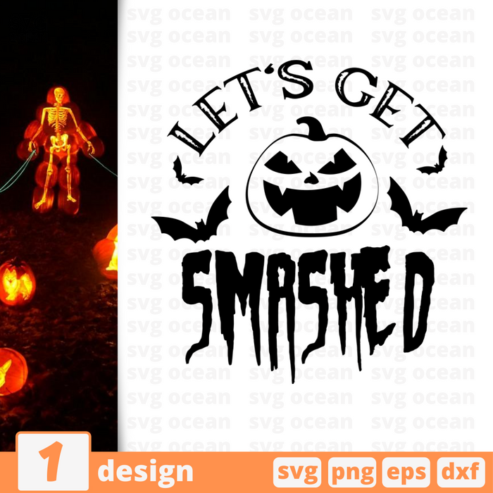 Let's get smashed SVG vector bundle - Svg Ocean