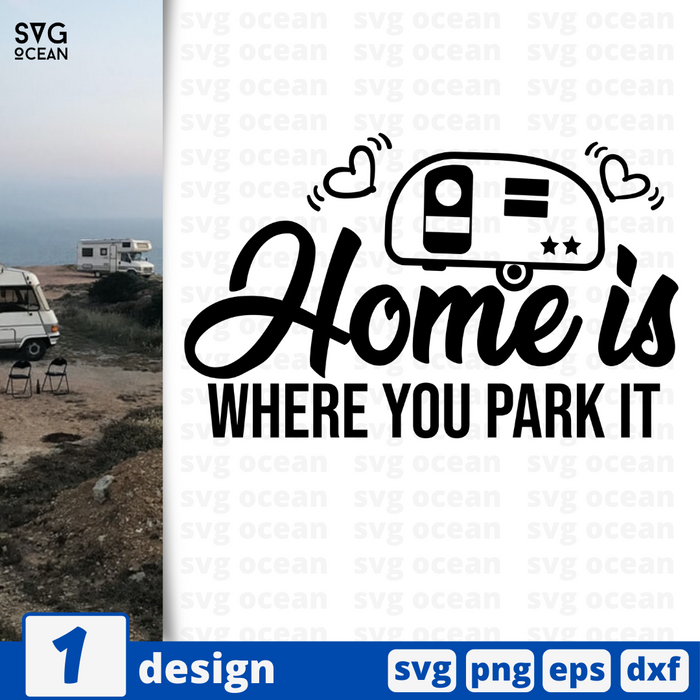 Home is  SVG vector bundle - Svg Ocean