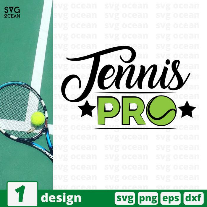 Tennis pro SVG vector bundle - Svg Ocean
