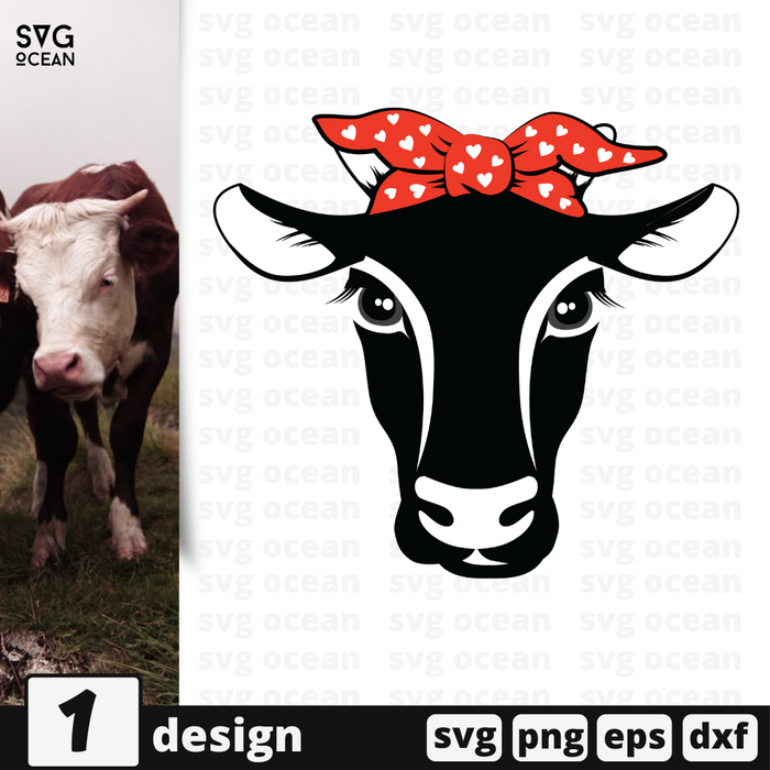 Free Cow quote SVG printable cut file Cow - Svg Ocean