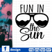 Fun in the sun SVG vector bundle - Svg Ocean