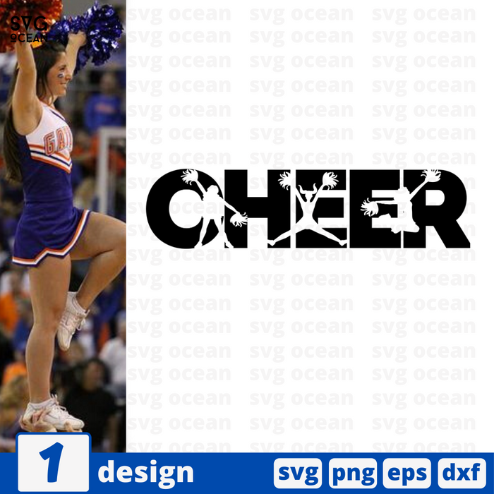 Cheer SVG vector bundle - Svg Ocean
