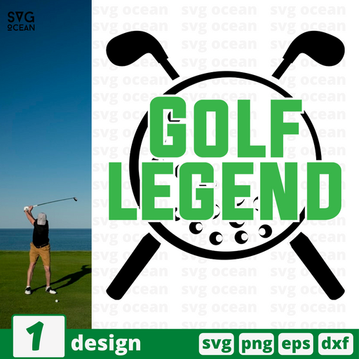 Golf  legend SVG vector bundle - Svg Ocean