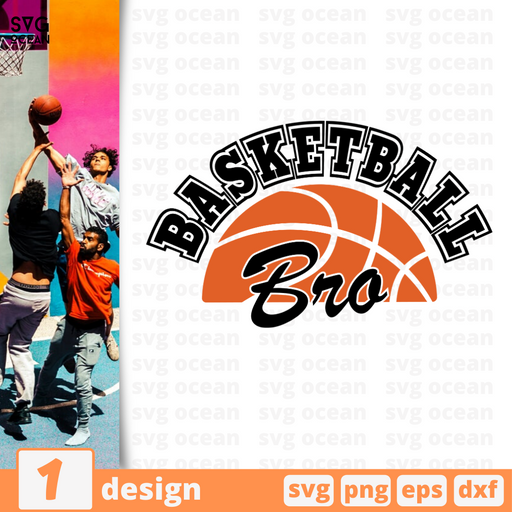 Basketball Bro SVG vector bundle - Svg Ocean