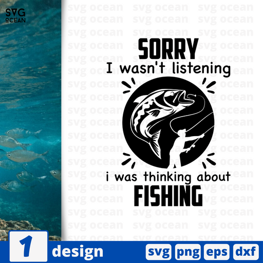 Sorry I was thinking about fishing SVG vector bundle - Svg Ocean