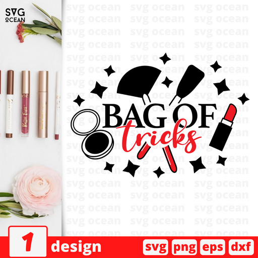 Bag of tricks SVG vector bundle - Svg Ocean