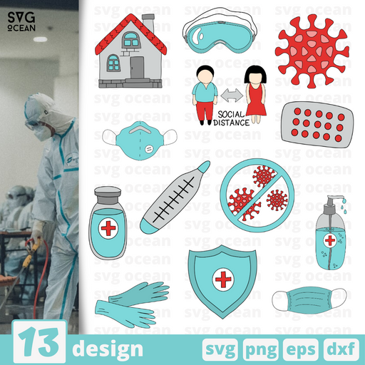 Quarantine SVG bundle - Svg Ocean