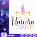 Unicorn squad SVG vector bundle - Svg Ocean