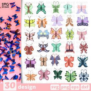 Butterflies SVG files for cricut - Svg Ocean