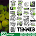 Tennis quotes SVG vector bundle - Svg Ocean