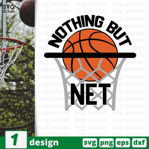 Nothing but net SVG vector bundle - Svg Ocean