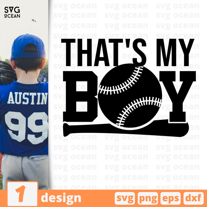 That's my boy SVG vector bundle - Svg Ocean
