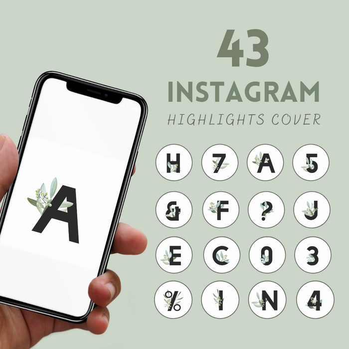 Symbols Instagram highlight covers - Svg Ocean