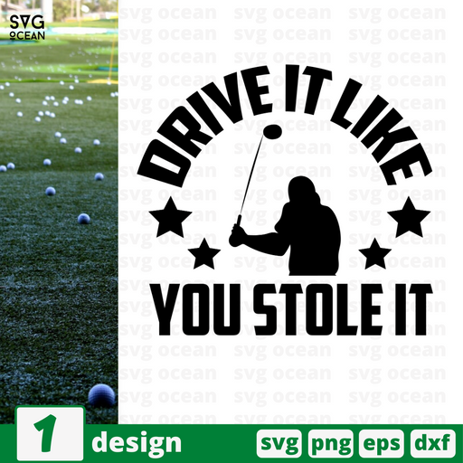 Drive it like you stole it SVG vector bundle - Svg Ocean