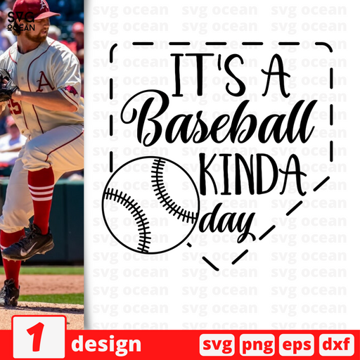 It's a baseball kinda day SVG vector bundle - Svg Ocean