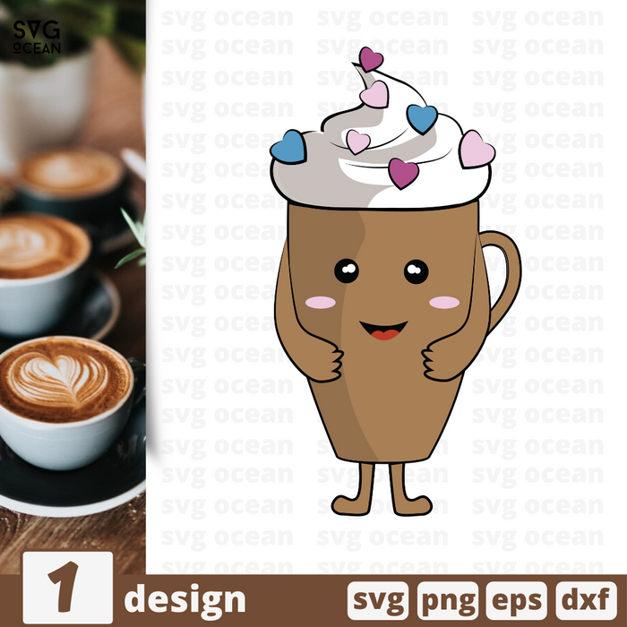 Free Coffee quote SVG printable cut file Coffee - Svg Ocean