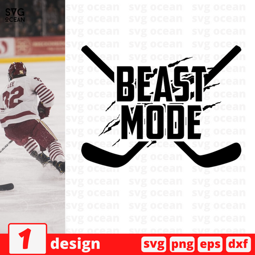 Beast mode SVG vector bundle - Svg Ocean