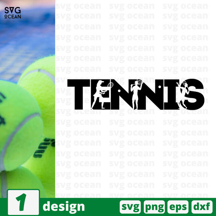 Tennis SVG vector bundle - Svg Ocean
