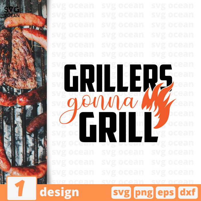 Grillers gonna grill SVG vector bundle - Svg Ocean