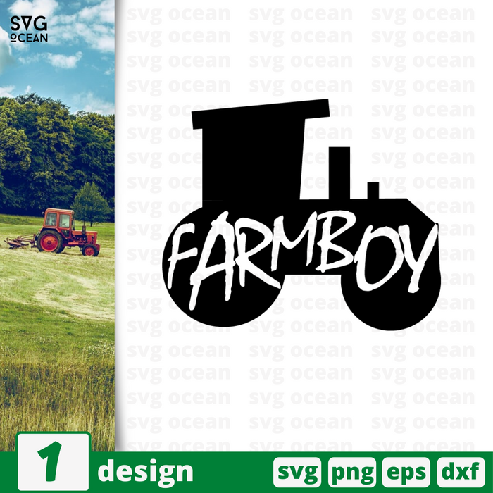 Farmboy SVG vector bundle - Svg Ocean