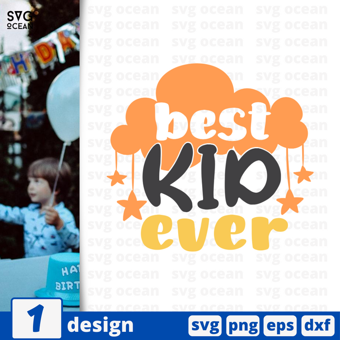 Best kid ever SVG vector bundle - Svg Ocean