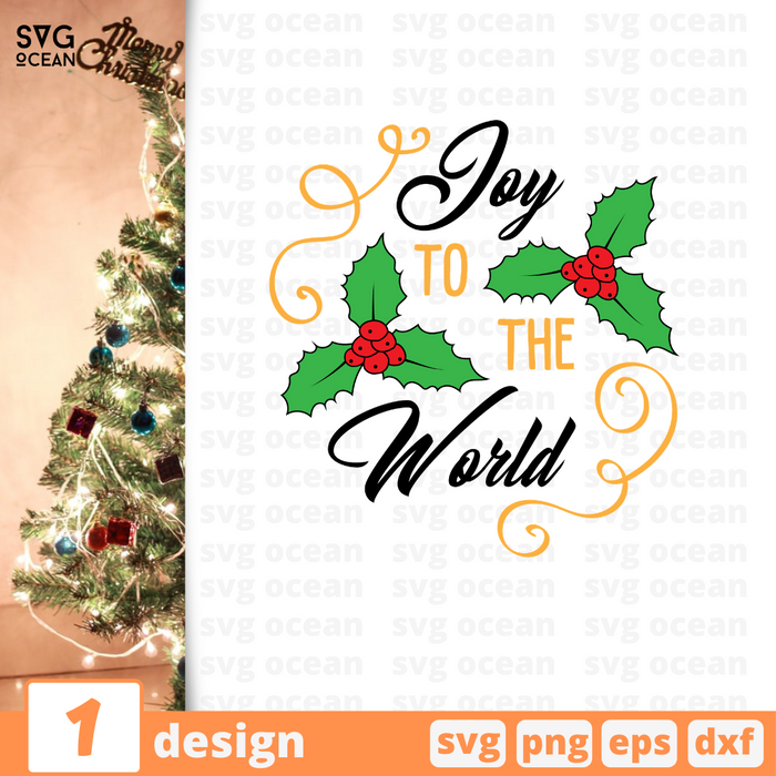 Joy to the world SVG vector bundle - Svg Ocean