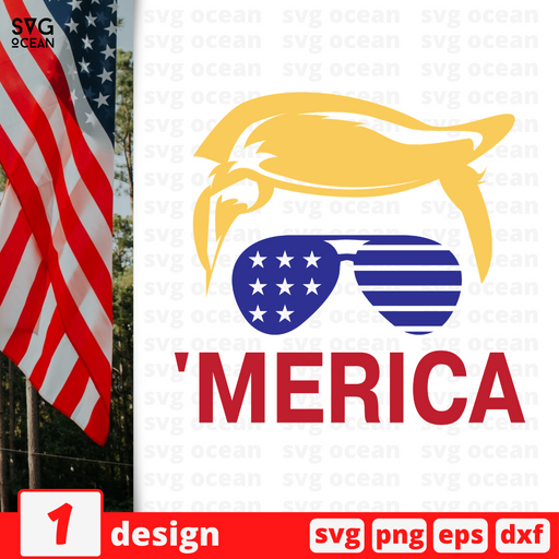 'merica SVG vector bundle - Svg Ocean