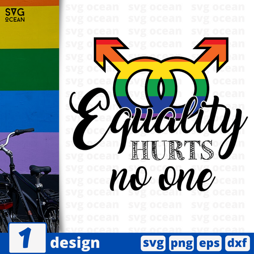 Equality hurts no one SVG vector bundle - Svg Ocean