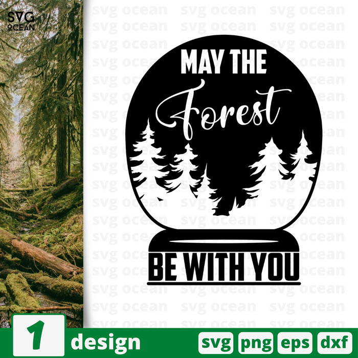 May the forest SVG vector bundle - Svg Ocean