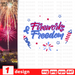 Fireworks & Freedom SVG vector bundle - Svg Ocean