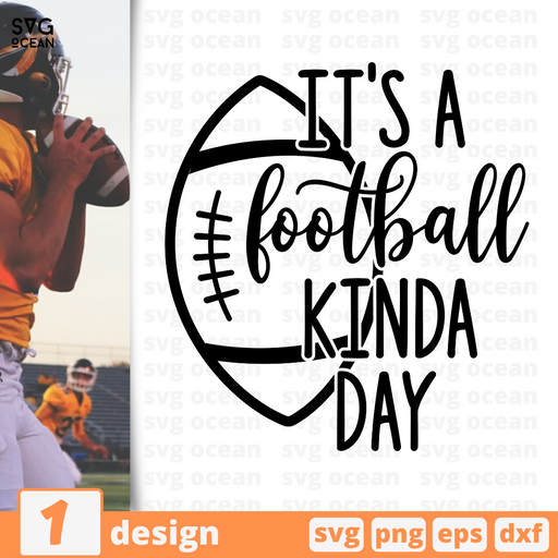 It's a football kinda day SVG vector bundle - Svg Ocean