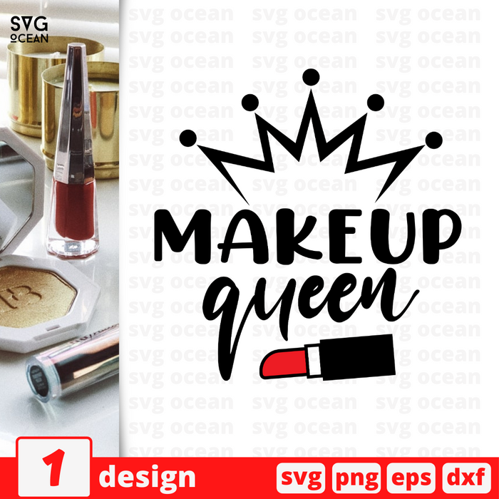 Makeup Queen SVG vector bundle - Svg Ocean