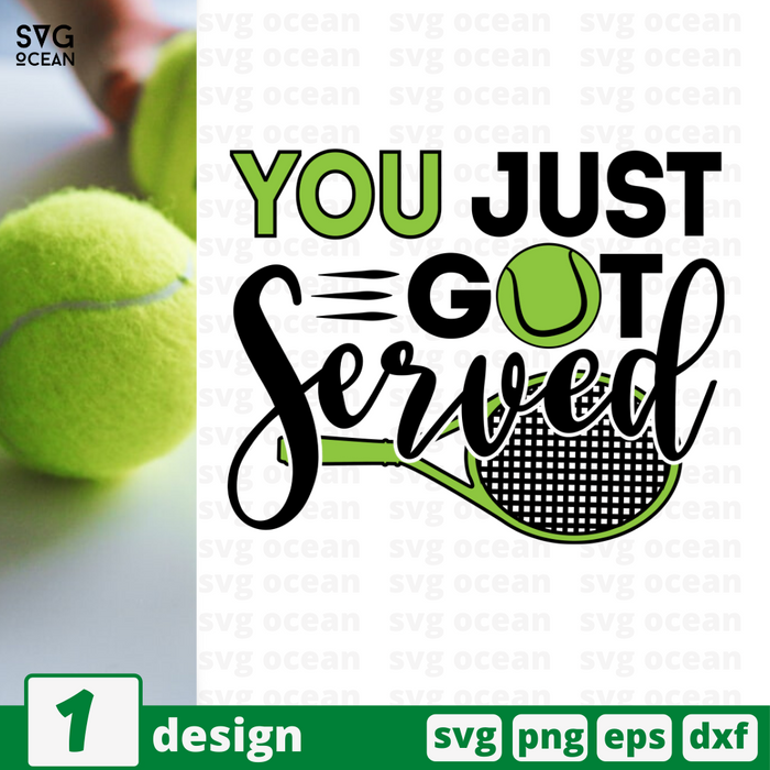 You just got served SVG vector bundle - Svg Ocean