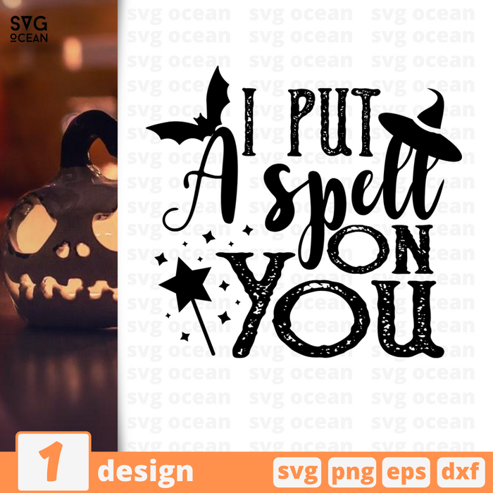 I put a spell on you SVG vector bundle - Svg Ocean