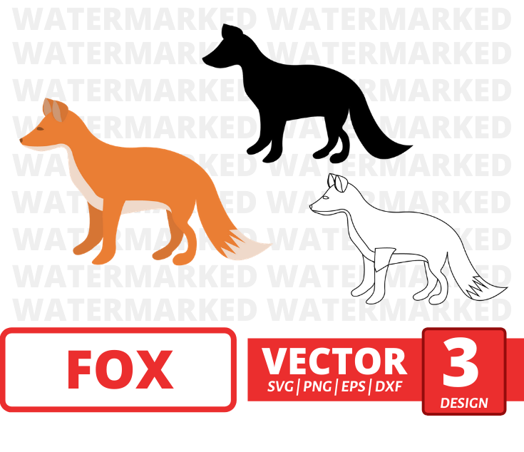 Fox SVG vector bundle - Svg Ocean