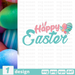Free Happy Easter quote SVG printable cut file Happy Easter - Svg Ocean