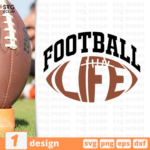 Football life SVG vector bundle - Svg Ocean