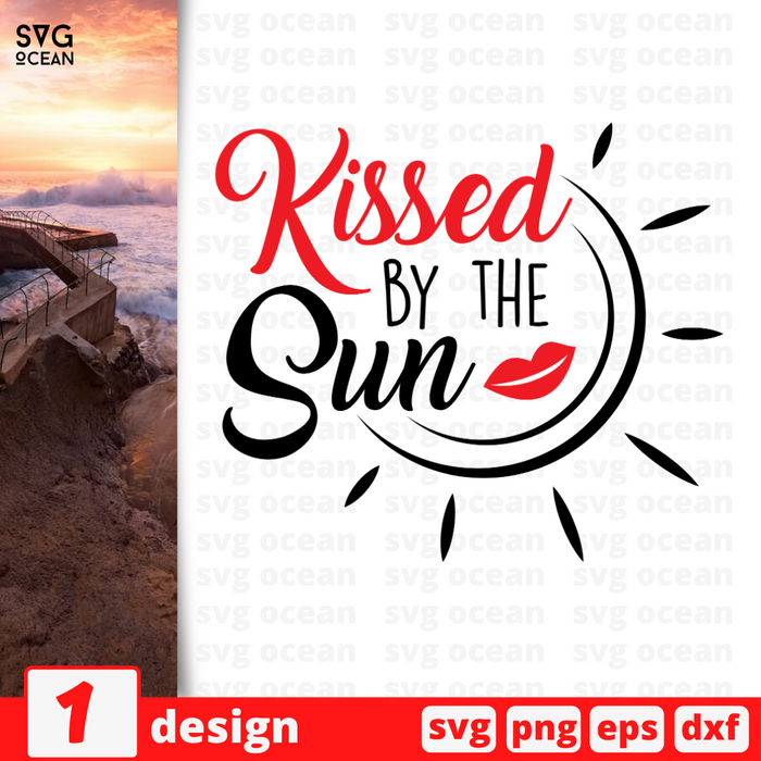 Kissed by the sun SVG vector bundle - Svg Ocean