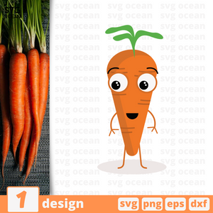 Carrot SVG vector bundle - Svg Ocean